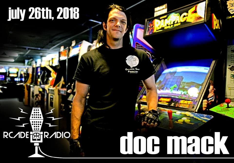 Doc Mack of Galloping Ghost Arcade